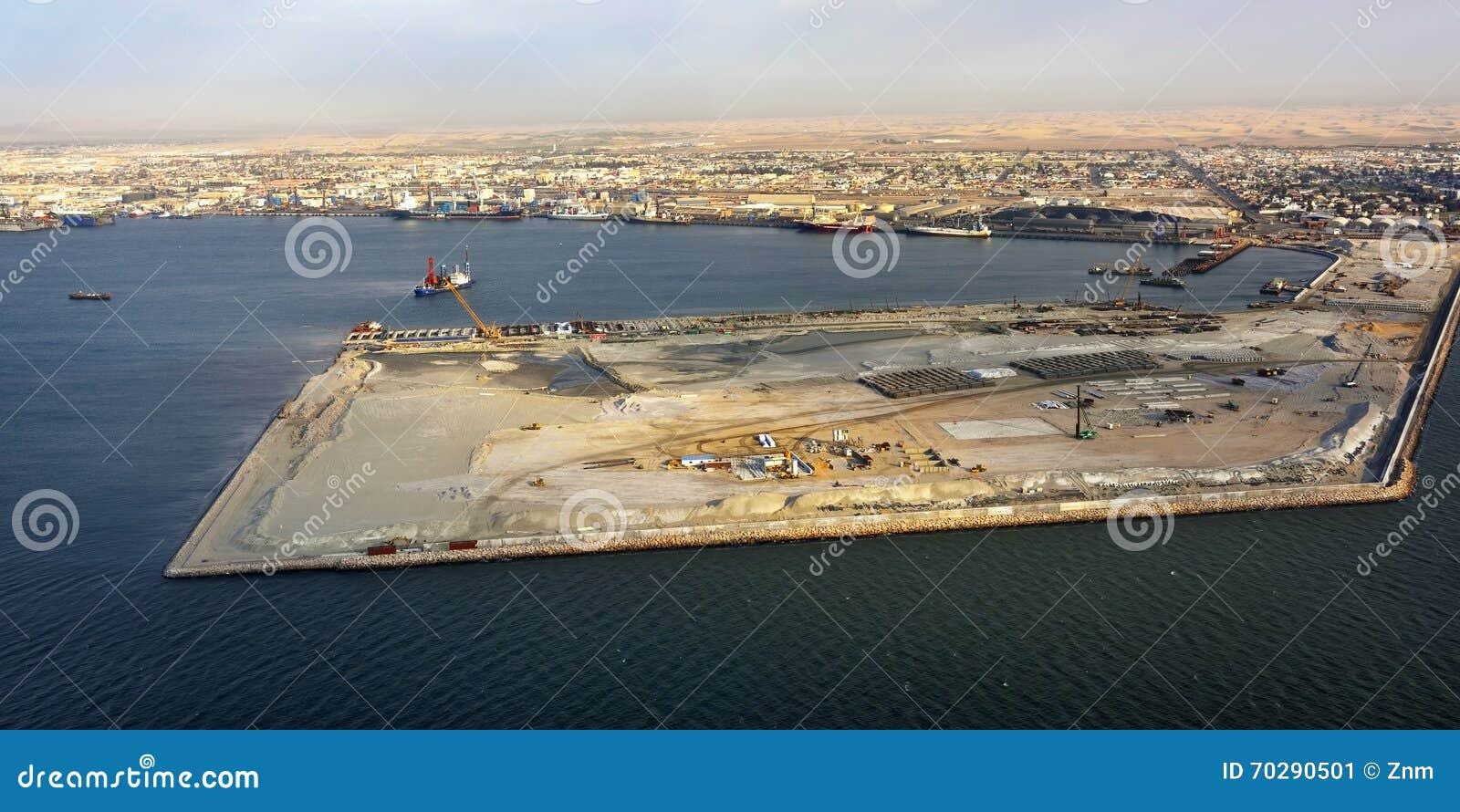 Ładunku Walvis portowa zatoka