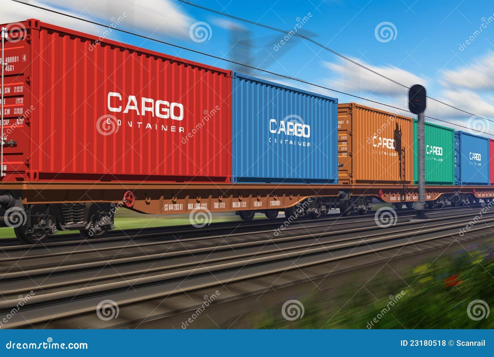 ładunku zbiorników pociąg towarowy