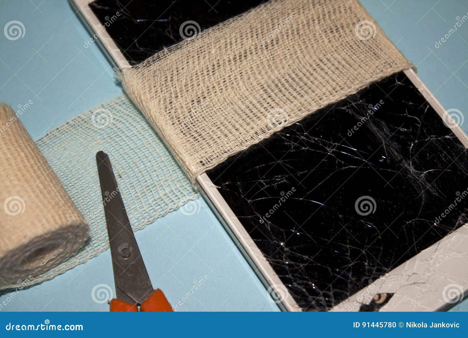 Łamana telefon komórkowy naprawa