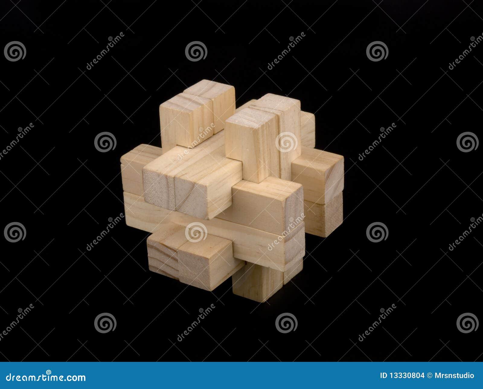 łamigłówka drewniana