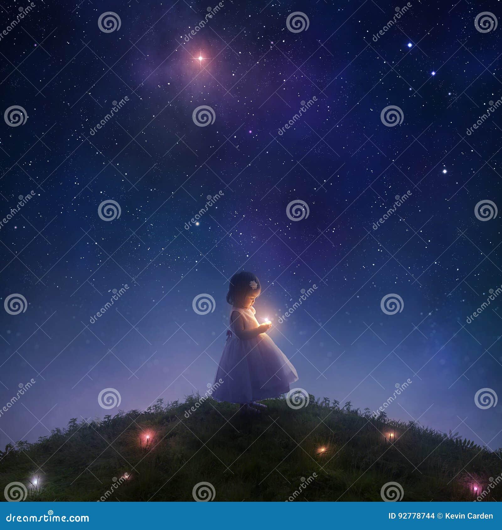 Łapać spada gwiazdy