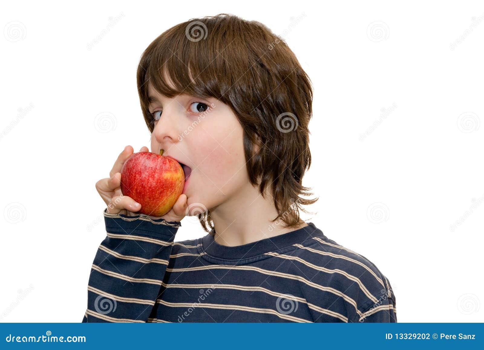 łasowanie jabłczany dzieciak