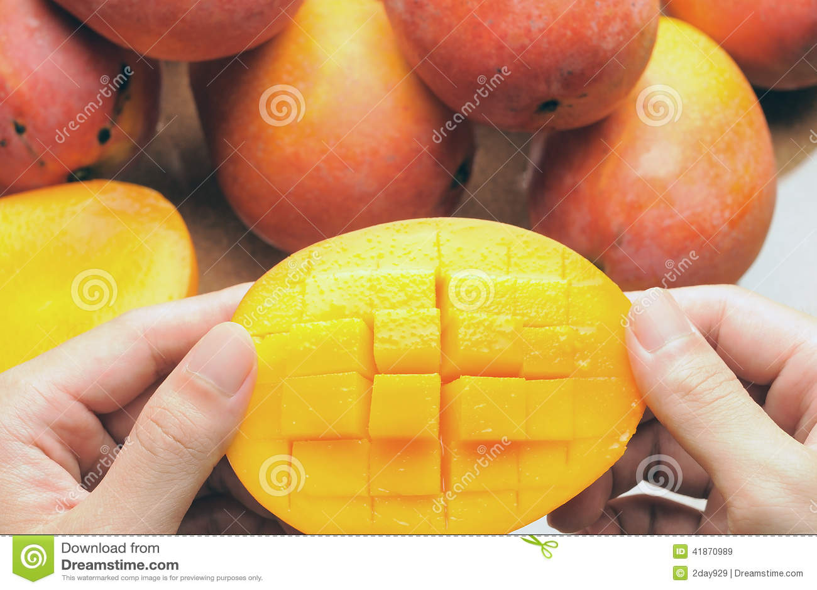 łasowanie mango