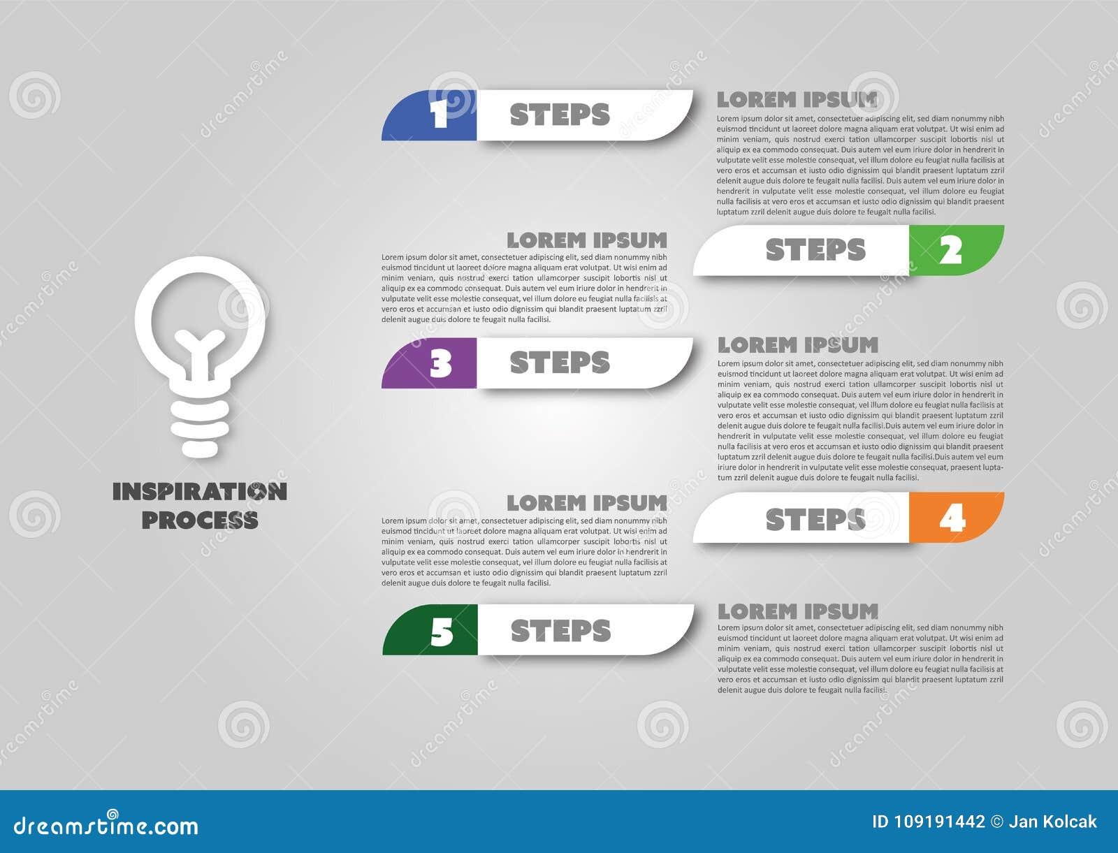 Łatwy zmodyfikowany biznesowy infographic projekt