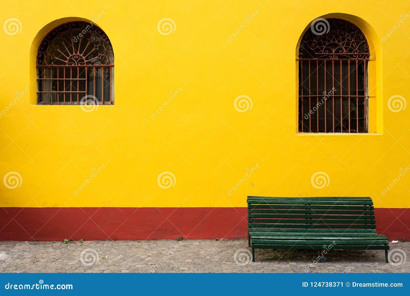 Ławki asymetria w Buenos Aires