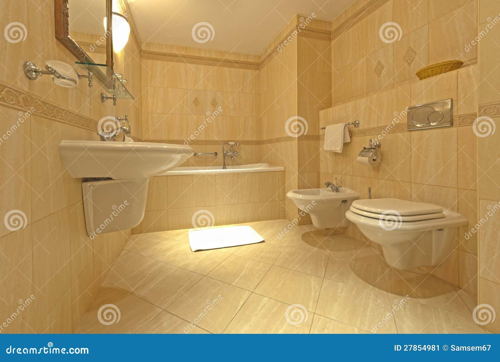 Łazienka z bidetem i wc