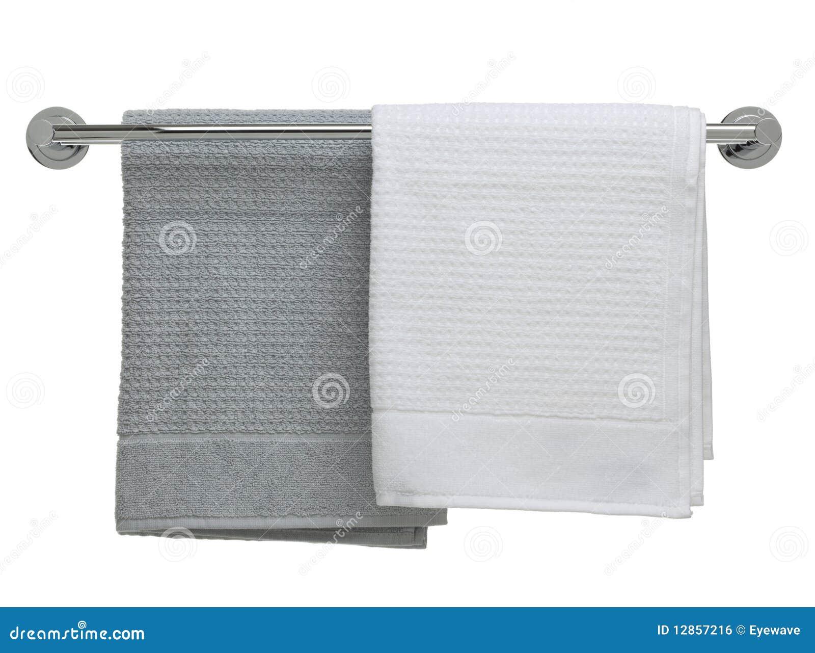 łazienki Przedmiota Poręcza Serii Ręczniki Zdjęcie Stock