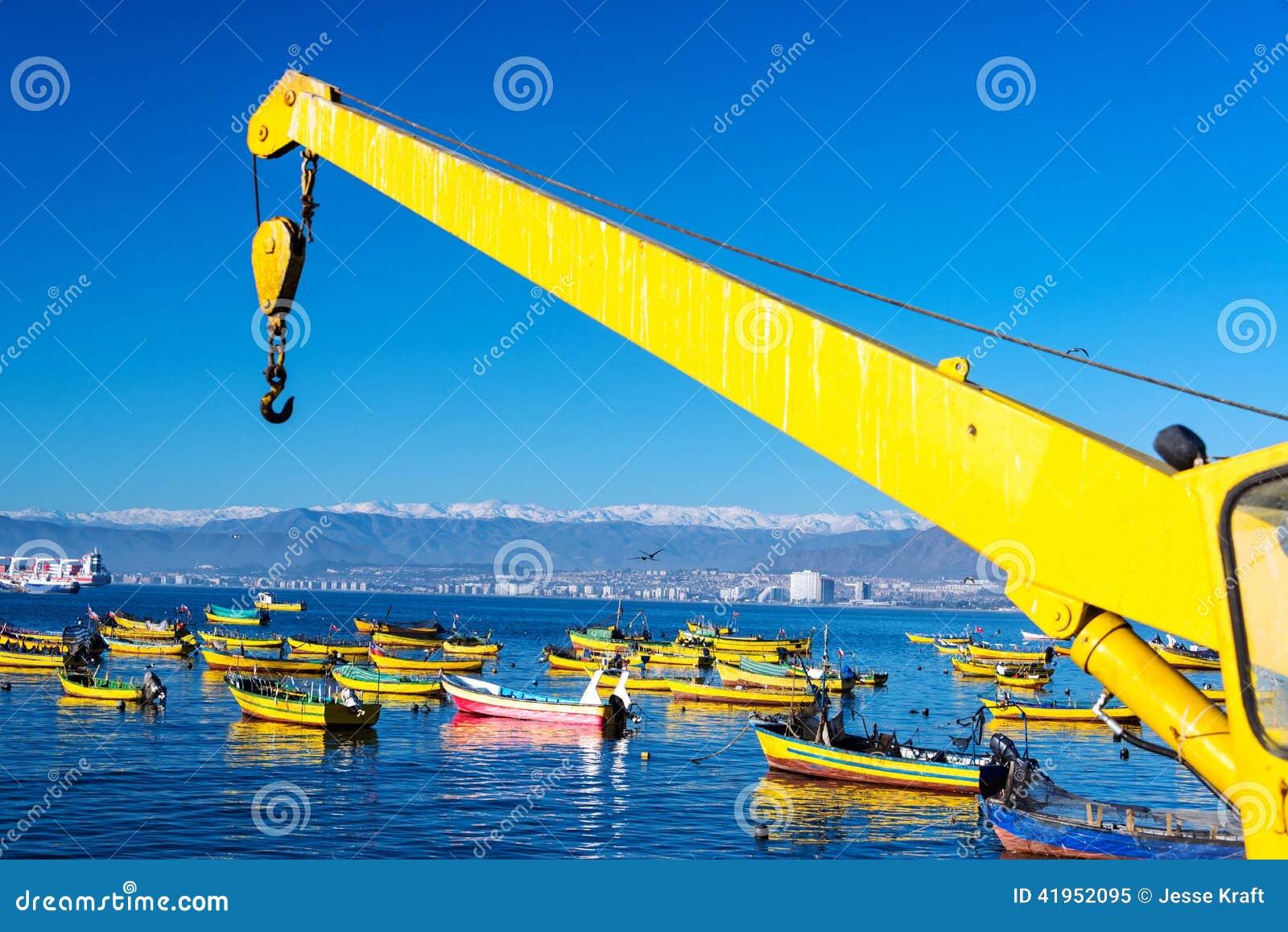 Łodzie Rybackie w Coquimbo