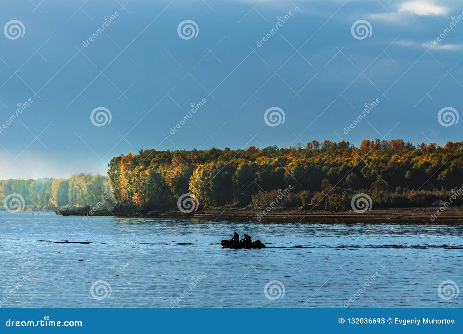 Łowić na Ob rzece Zachodni Syberia