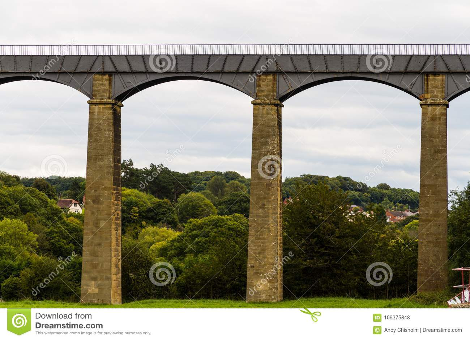 Łuki pontcysyllte akwedukt