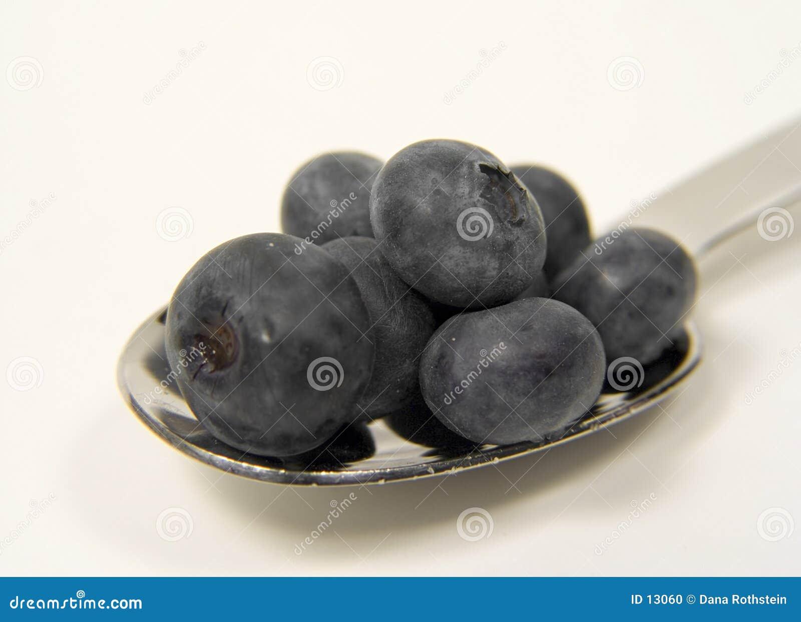 łyżka blueberry