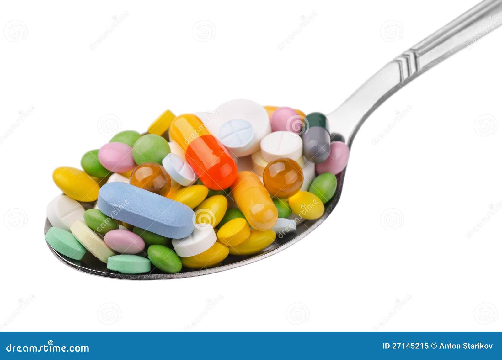 Łyżka leki