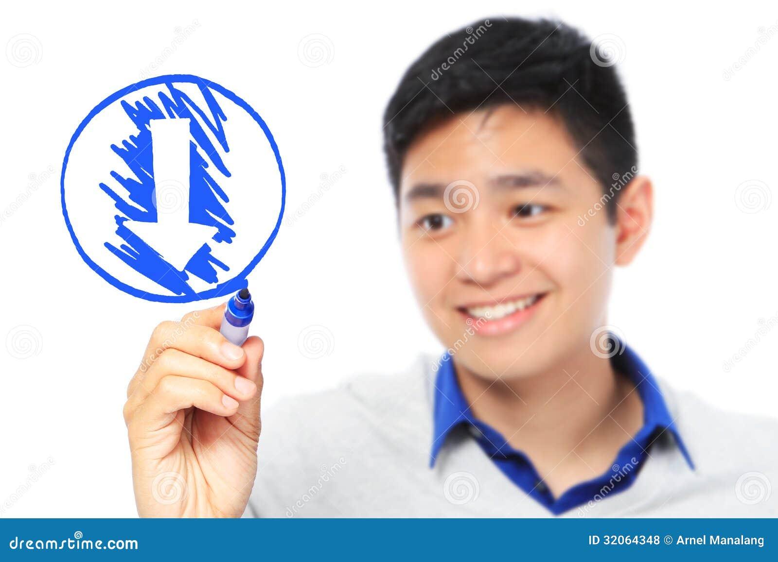 Ściąganie symbol