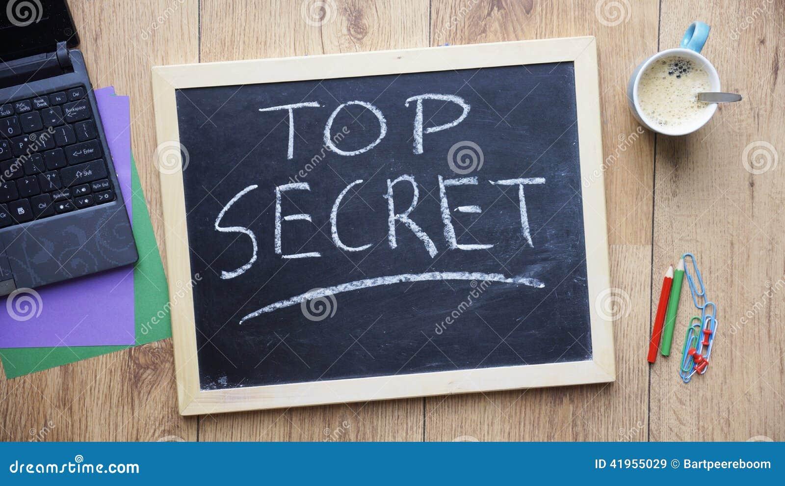 Ściśle tajny pisać