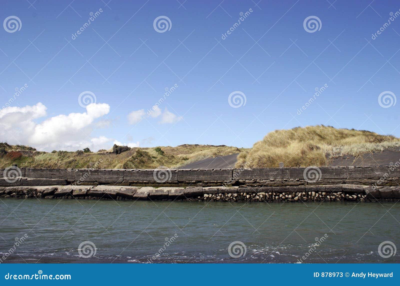 ściana morska