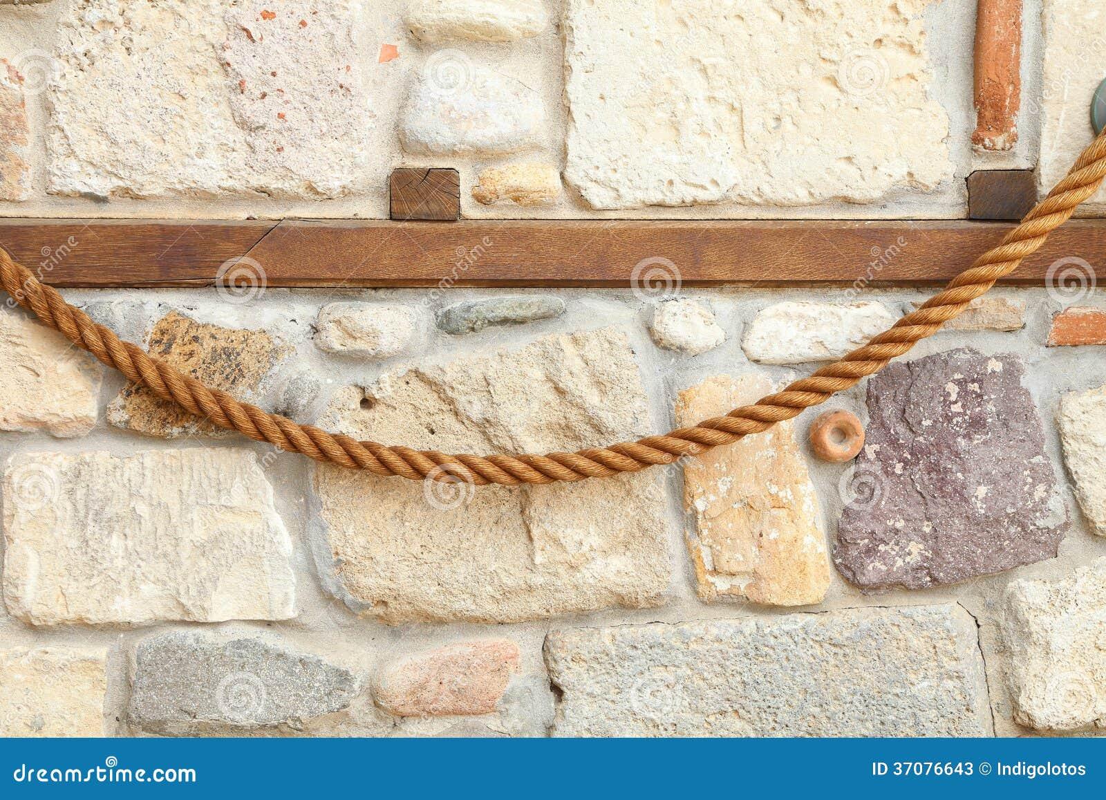Download Ściana Skały I Kamienie W Cemencie. Obraz Stock - Obraz złożonej z irregular, stonewall: 37076643