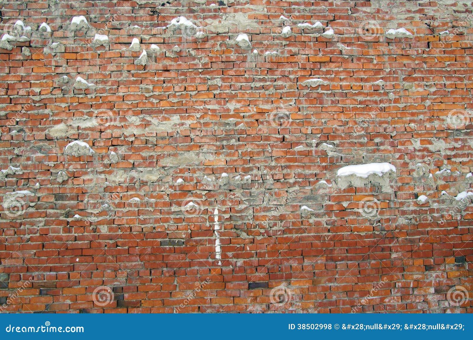 Ściana z cegieł tło