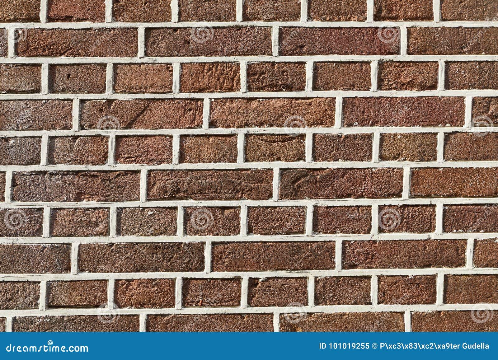 Ściana z cegieł zbliżenie