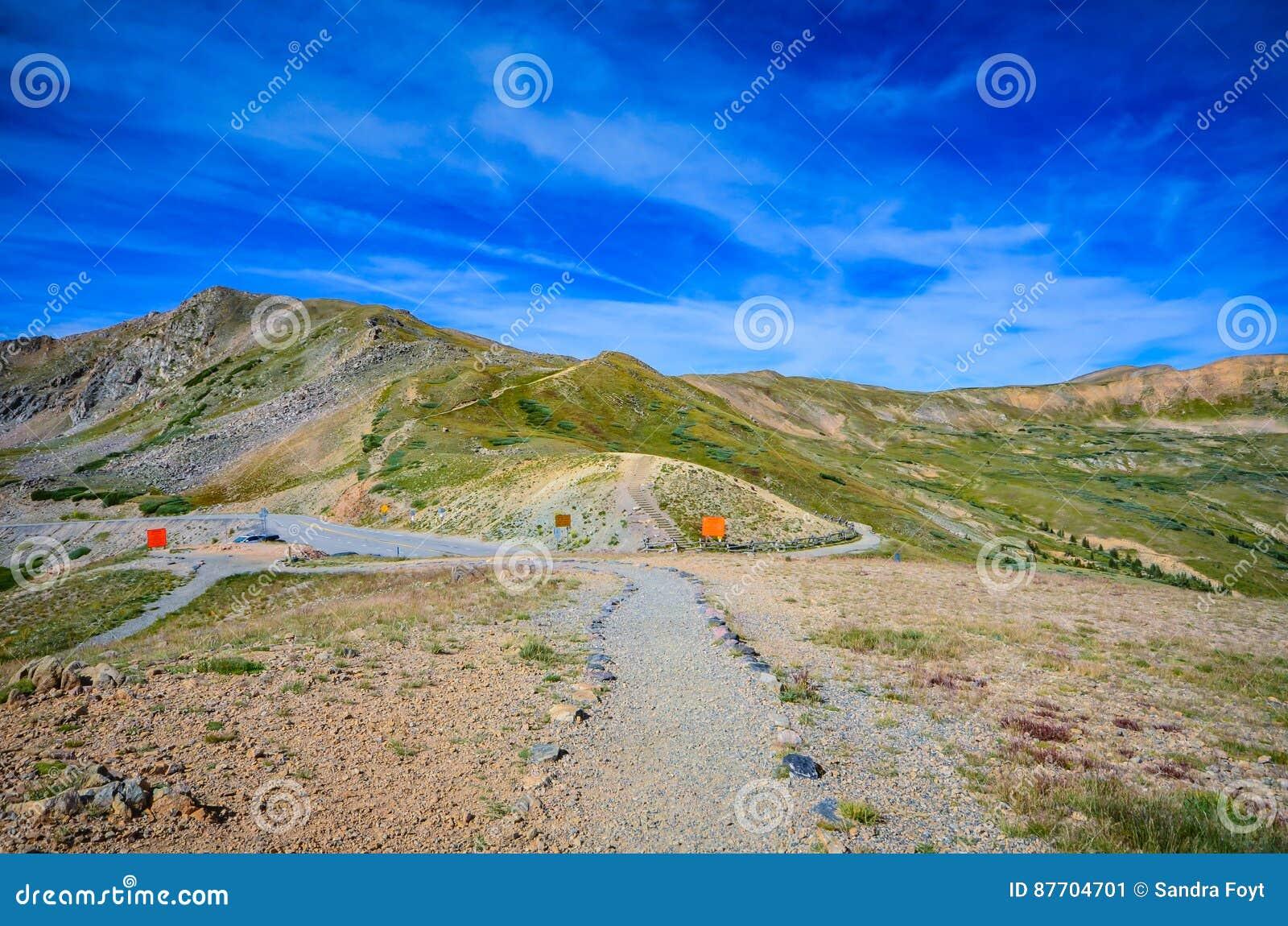 Ślad - Loveland przepustka - Kolorado