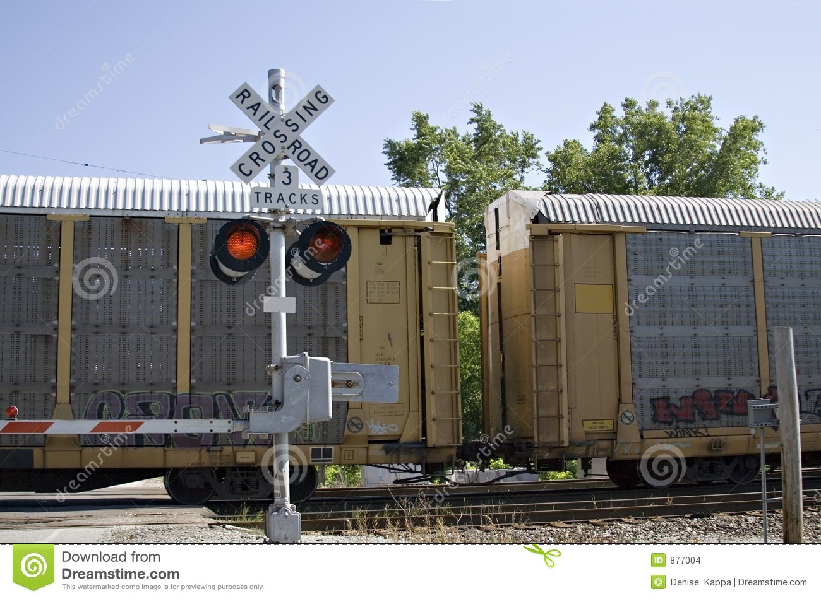 śladu pociąg towarowy