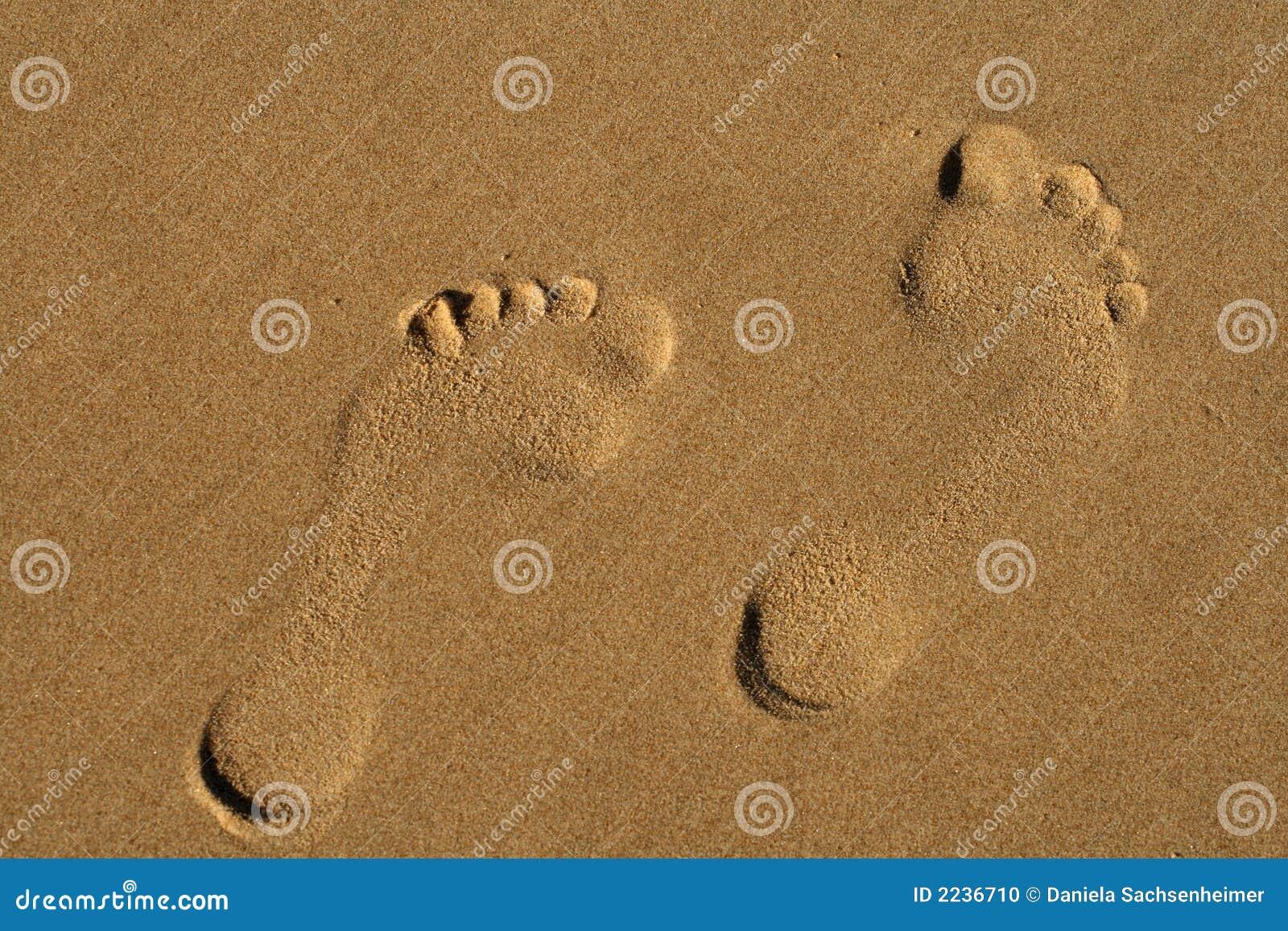 ślady stóp