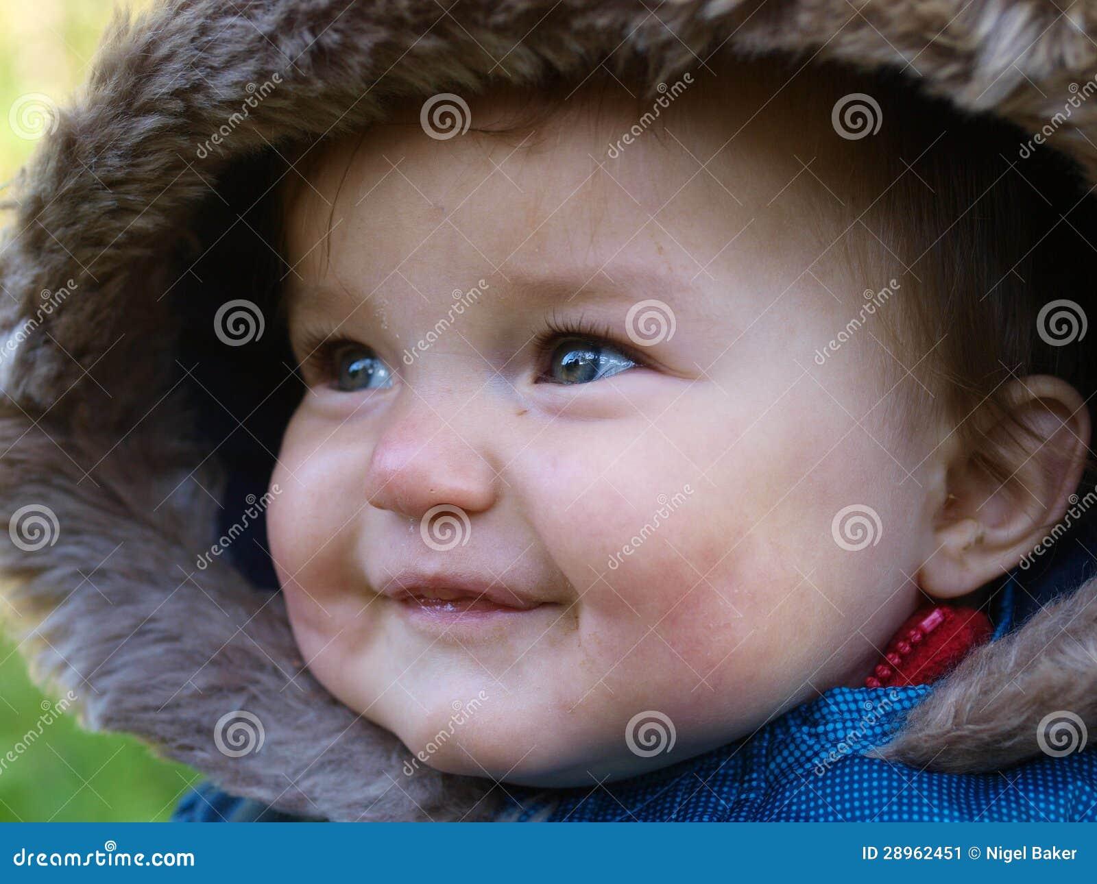 Śliczna dziecko twarz