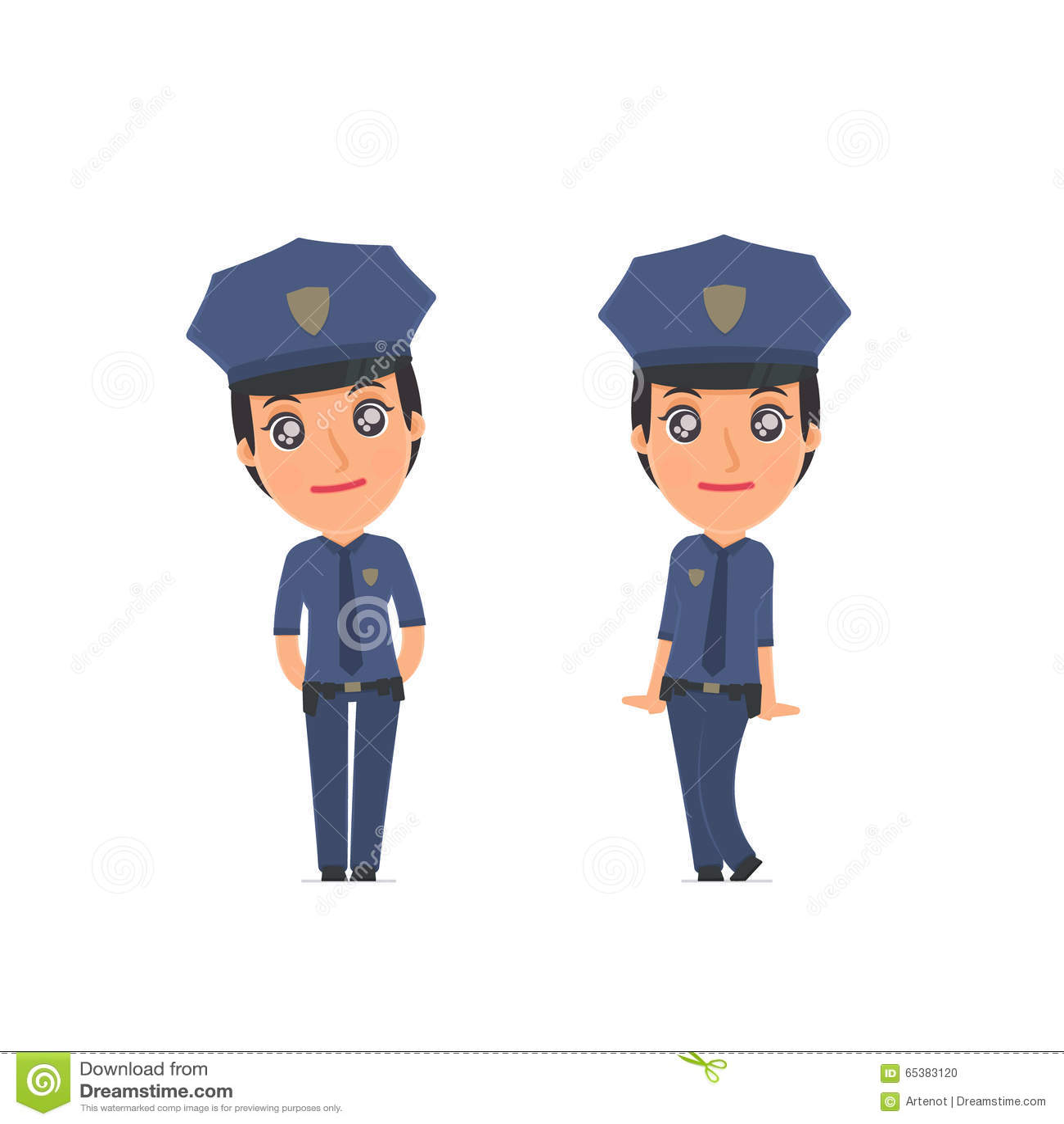 Śliczna i Czule charakter policja w