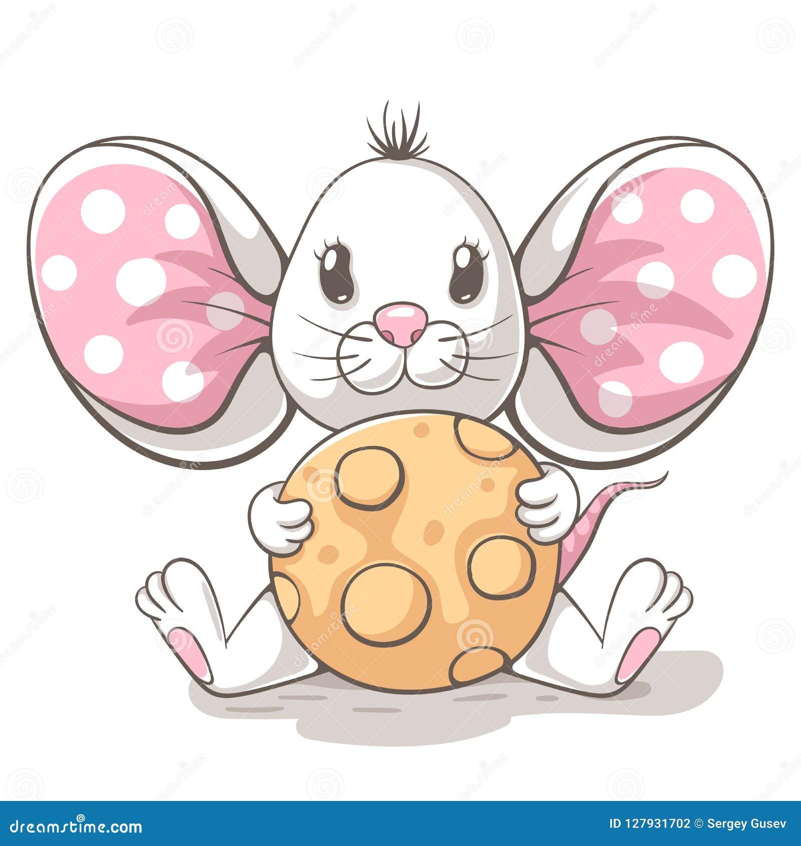 Śliczni, śmieszni, tedy myszy postać z kreskówki, Pomysł dla druk koszulki