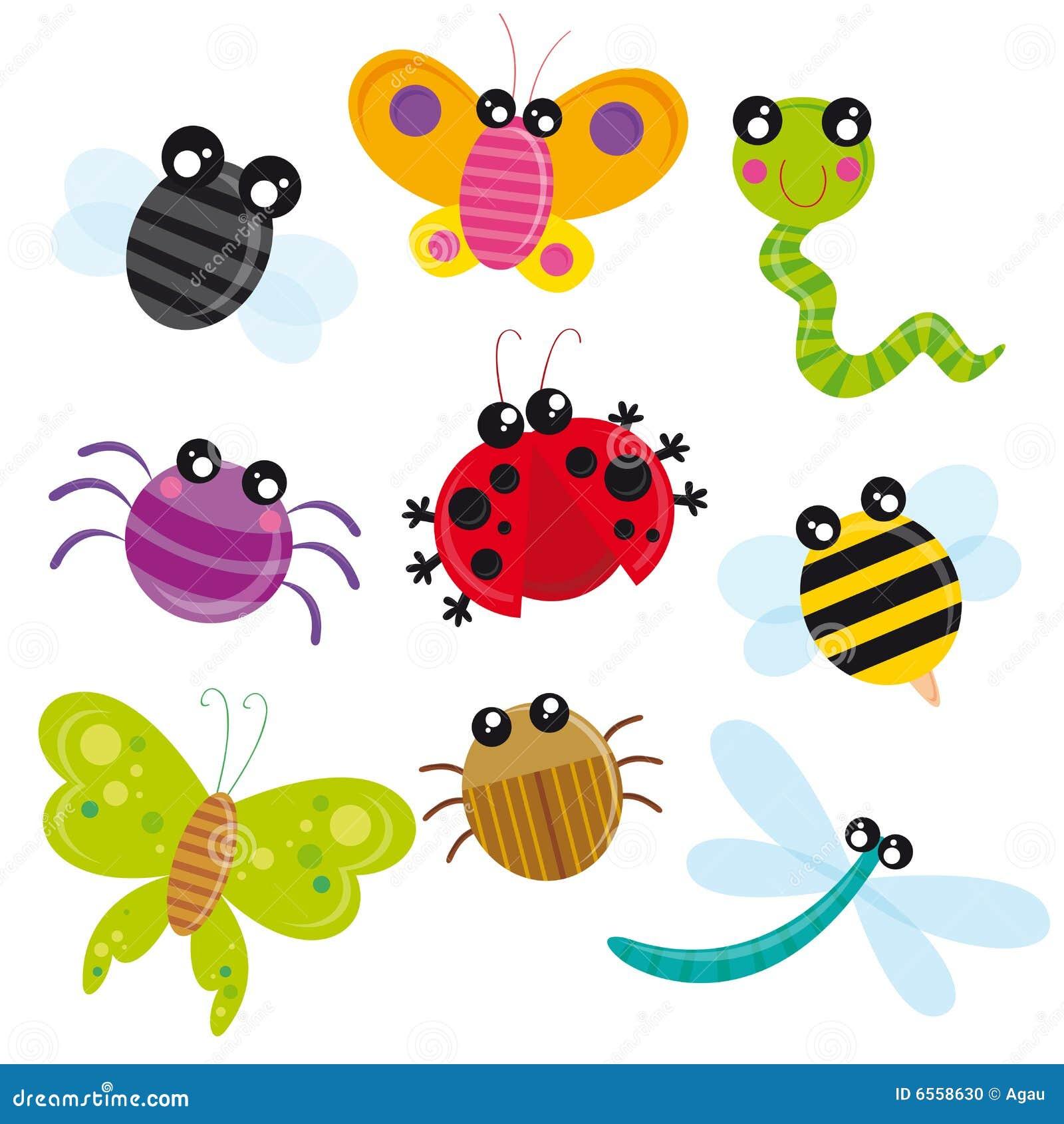 śliczni insekty