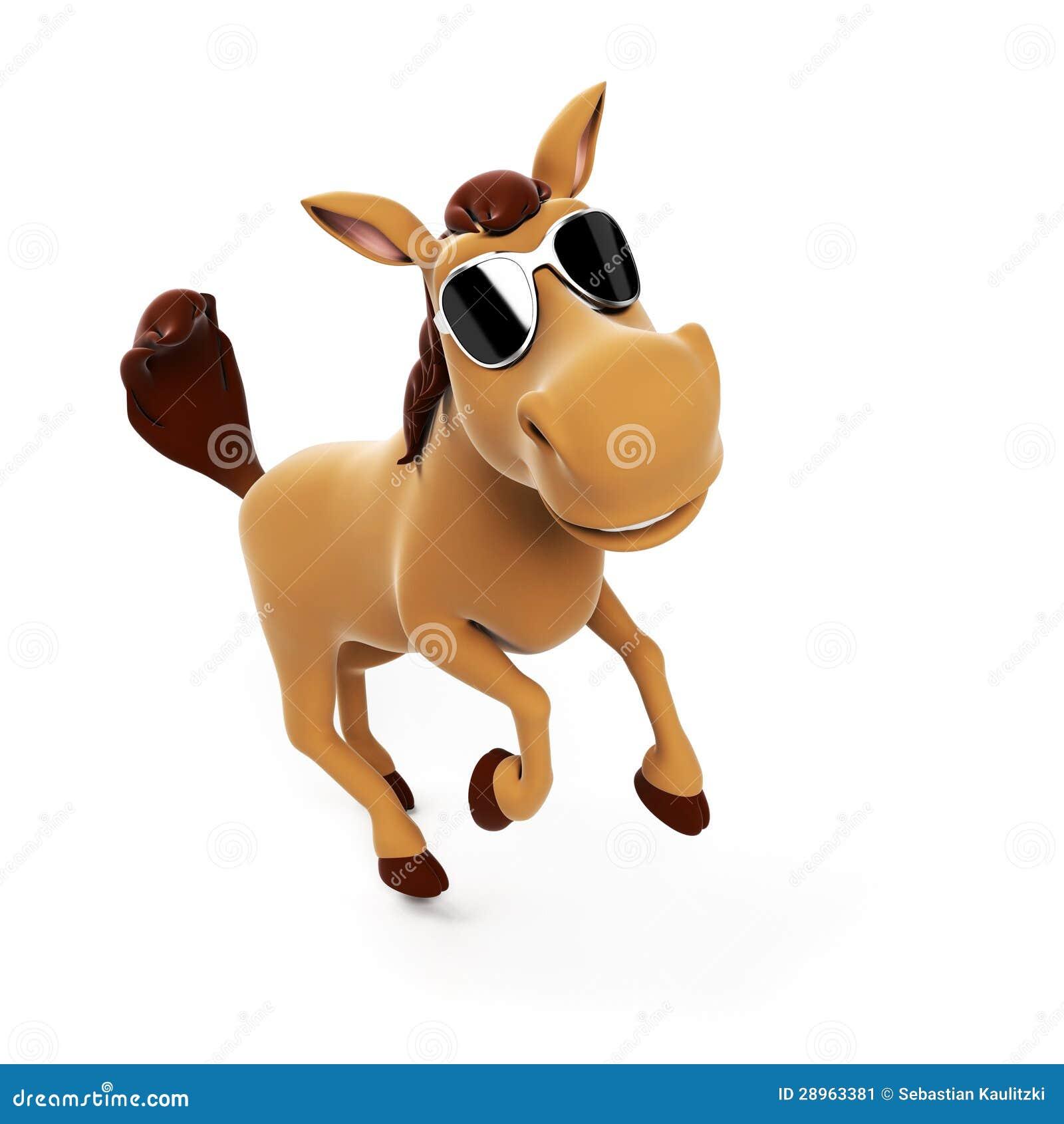 Śliczny koń