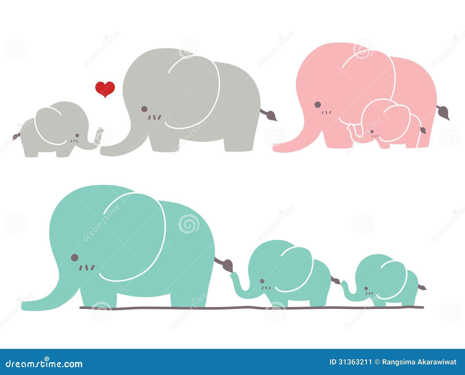 Śliczny słoń