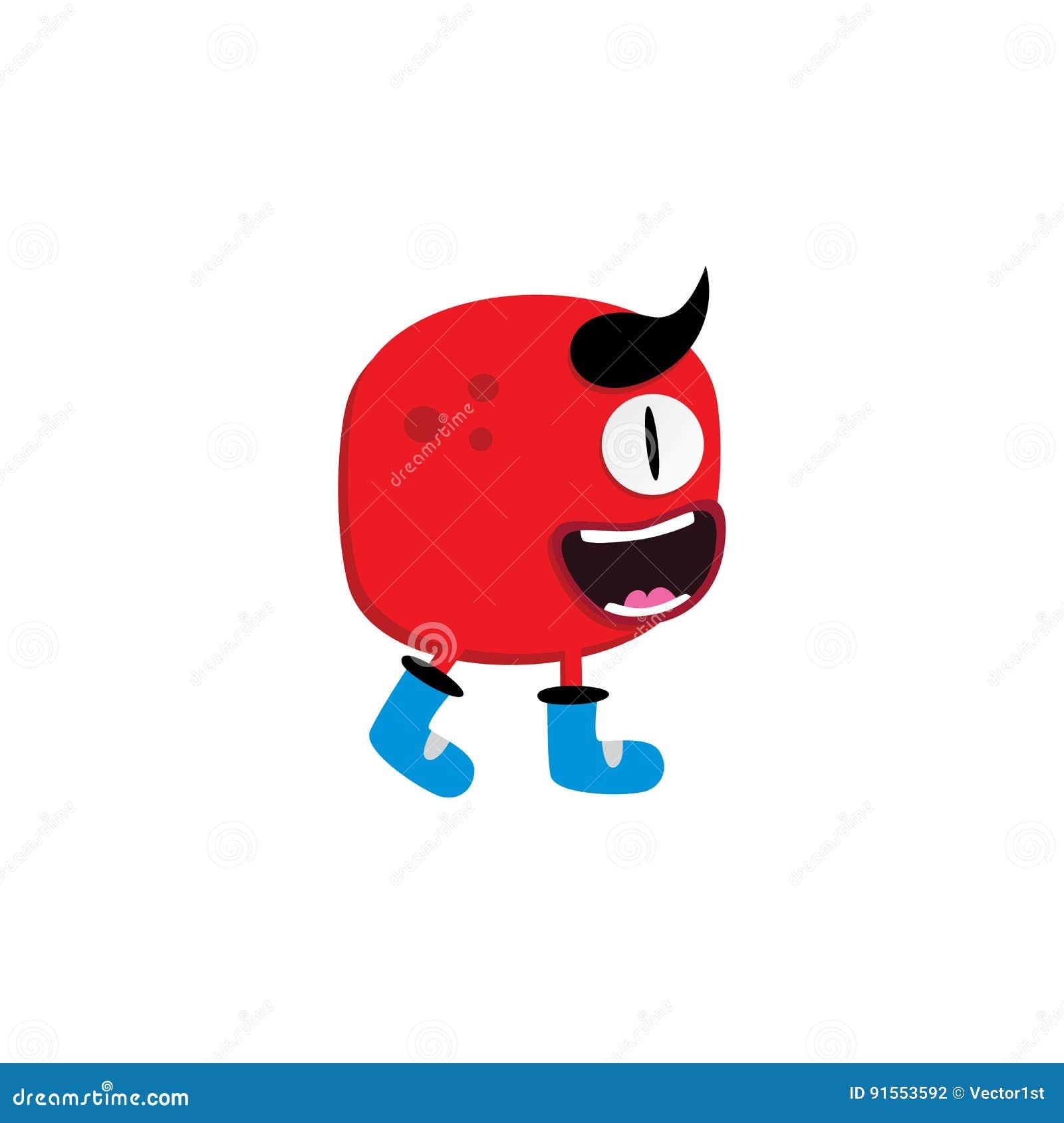 śliczny uroczy brzydki straszny śmieszny maskotka potwór