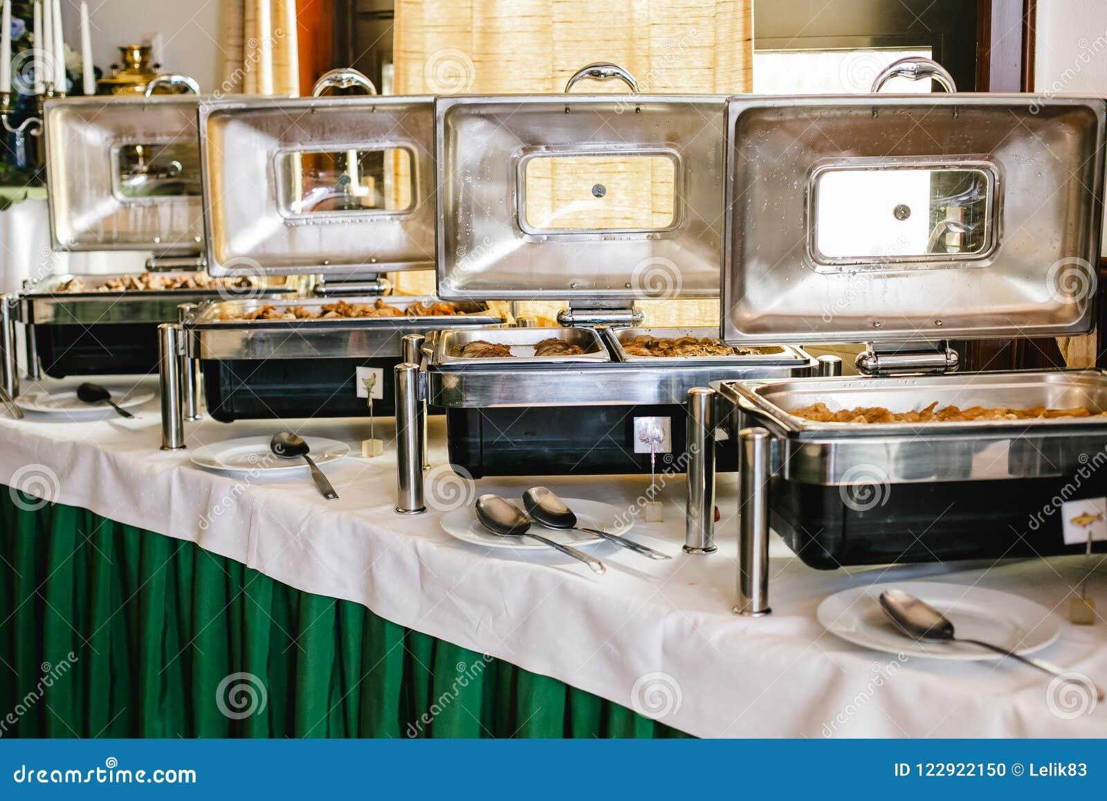 Ślubny bufet dla wydarzeń