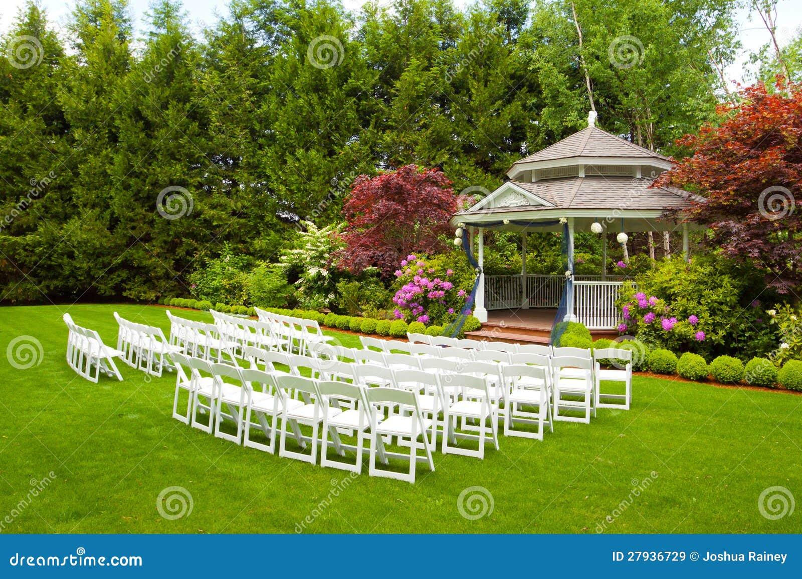 Ślubny Miejsce wydarzenia i Krzesła