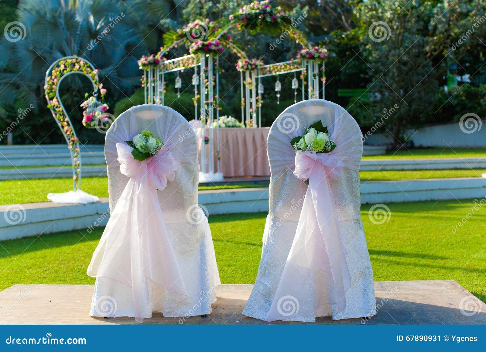 Ślubny pary krzesło