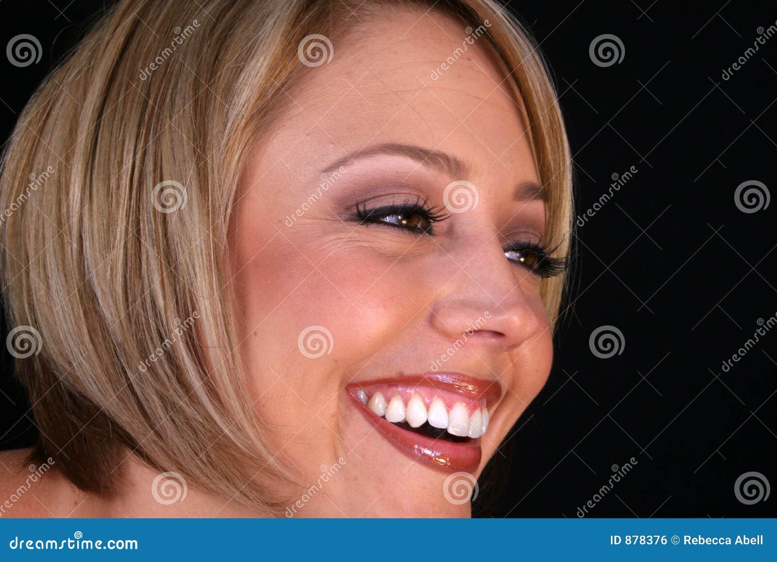 śmiech kobiety