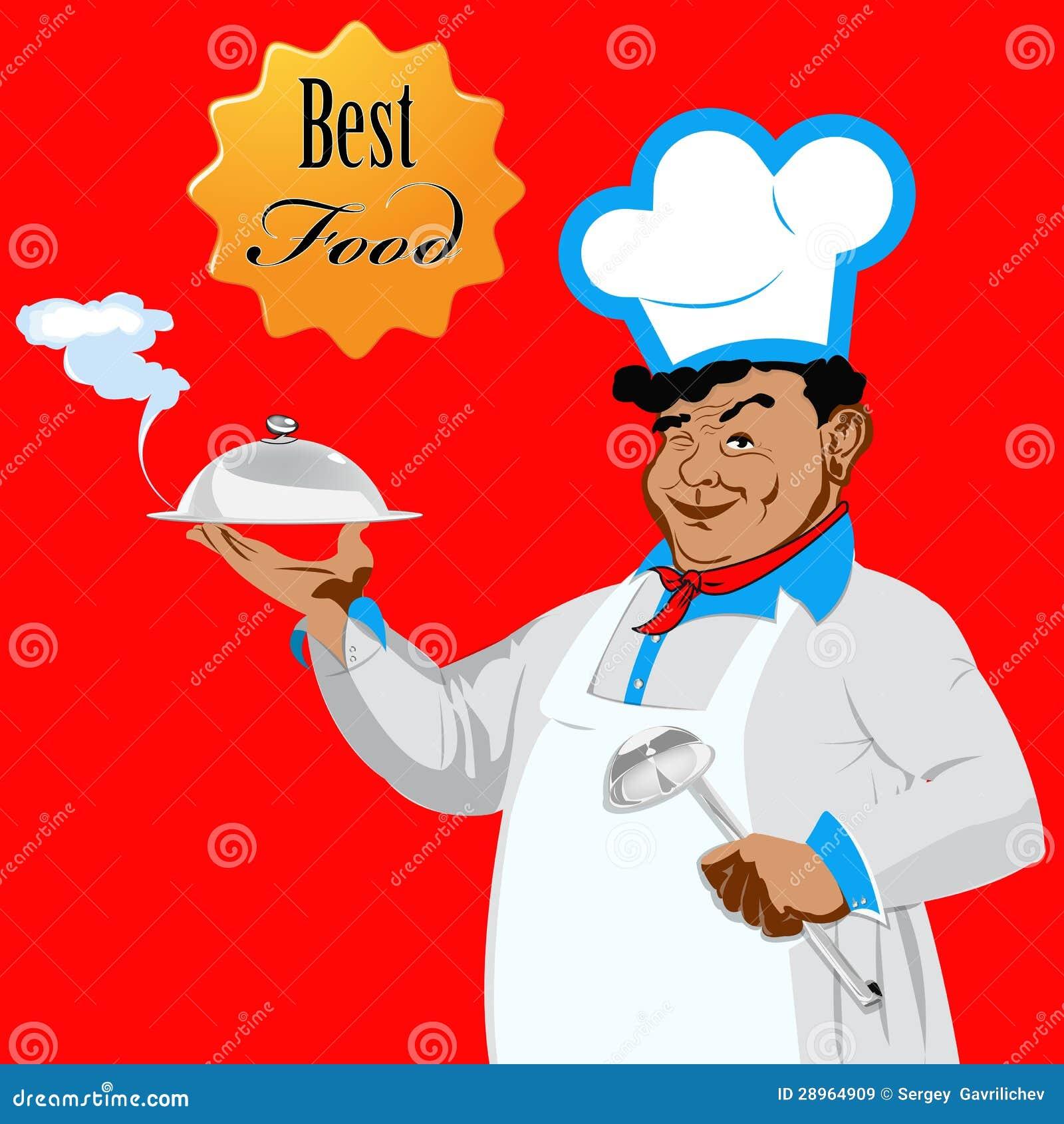 Śmieszny szef kuchni