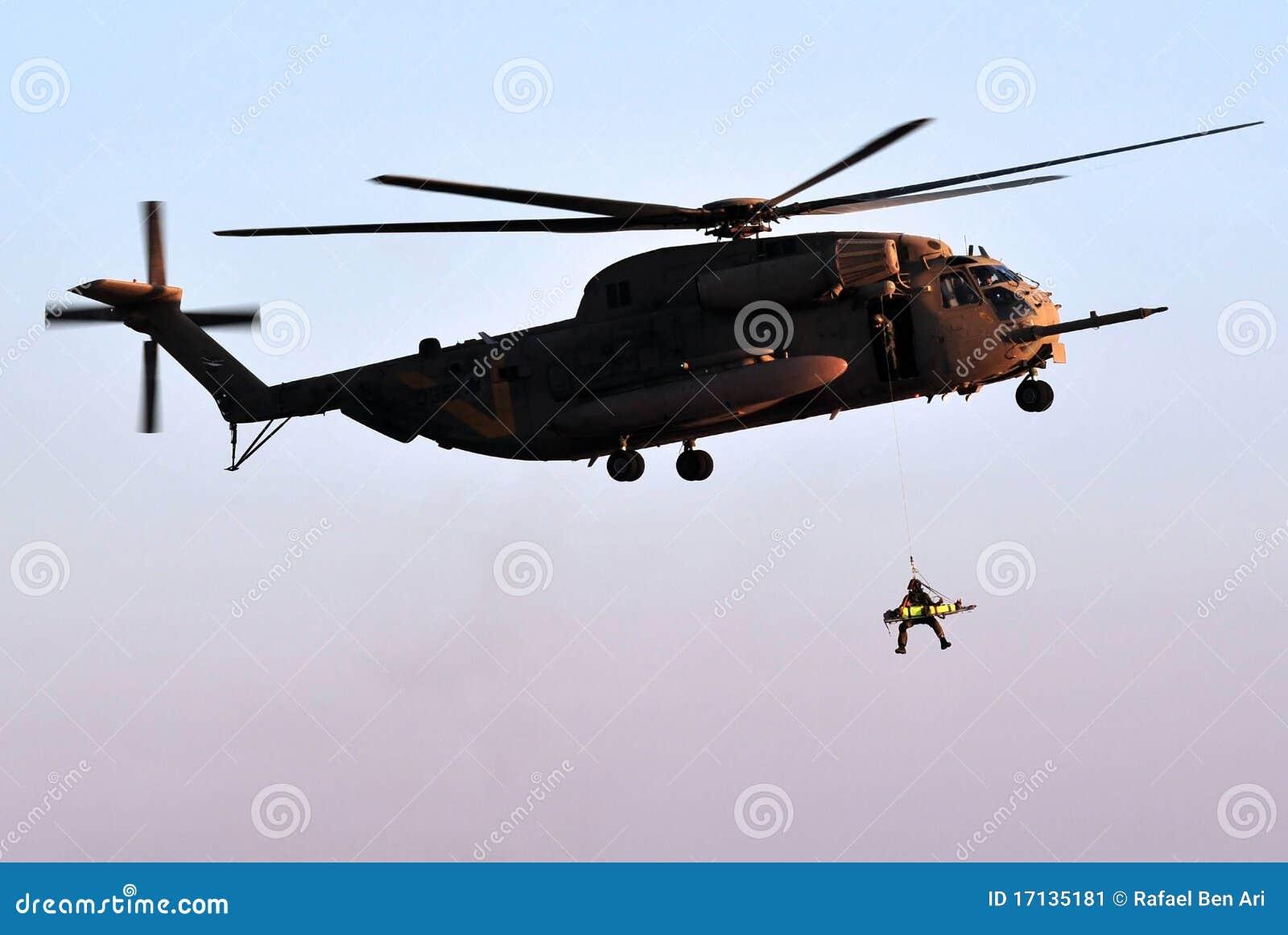 śmigłowcowy wojsko ratunek