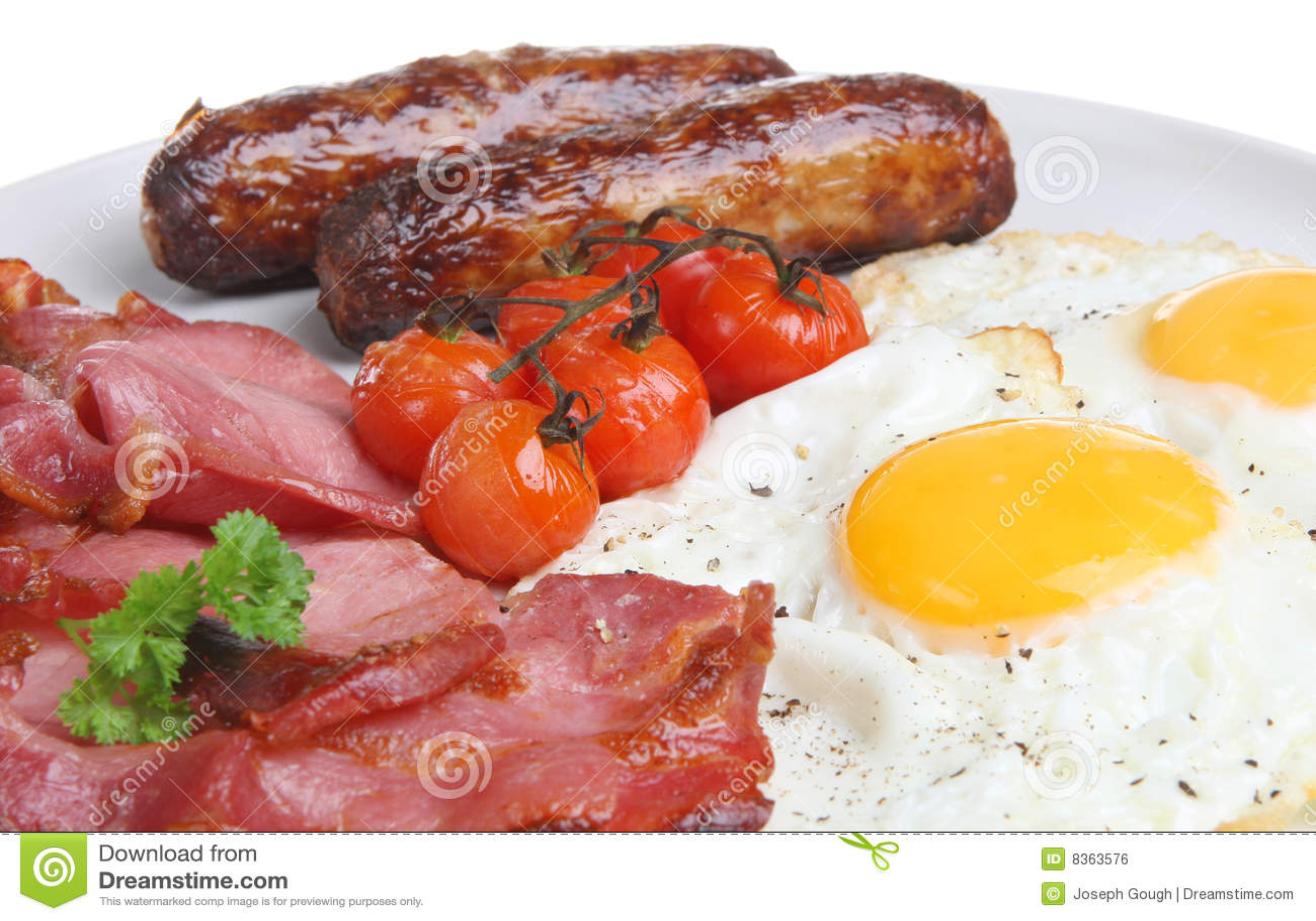śniadanie gotujący anglicy