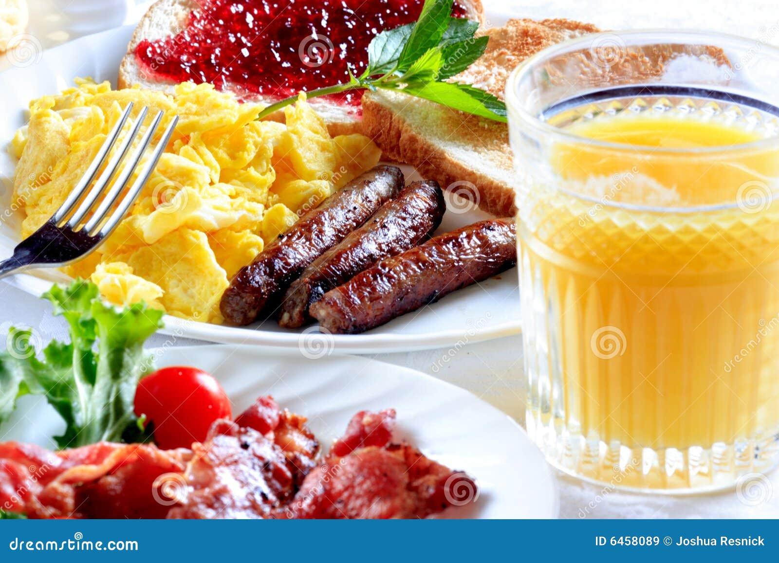 śniadanie płytki