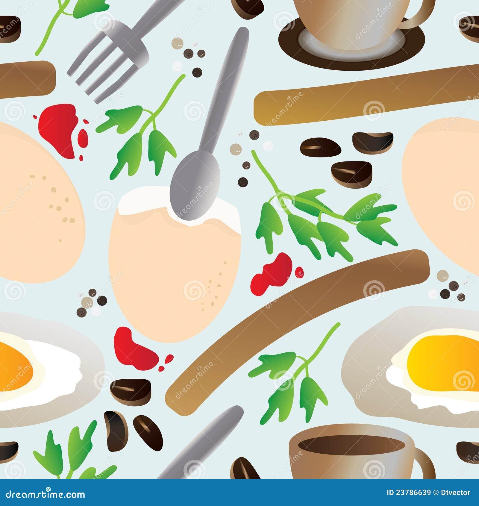 śniadaniowy bezszwowy eps deseniowy