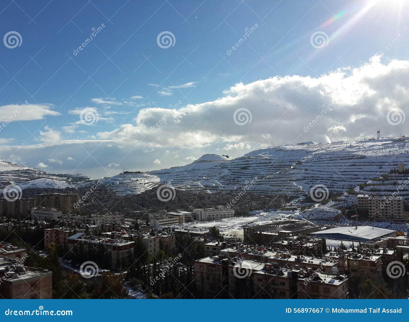 Śnieżna góra