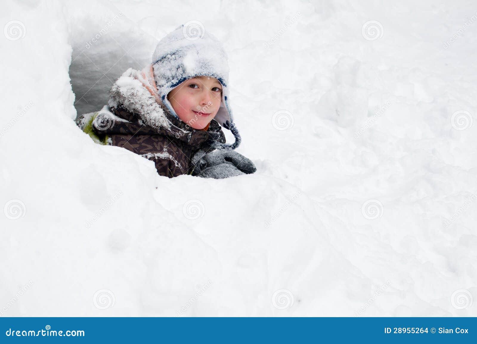 Śnieżny fort