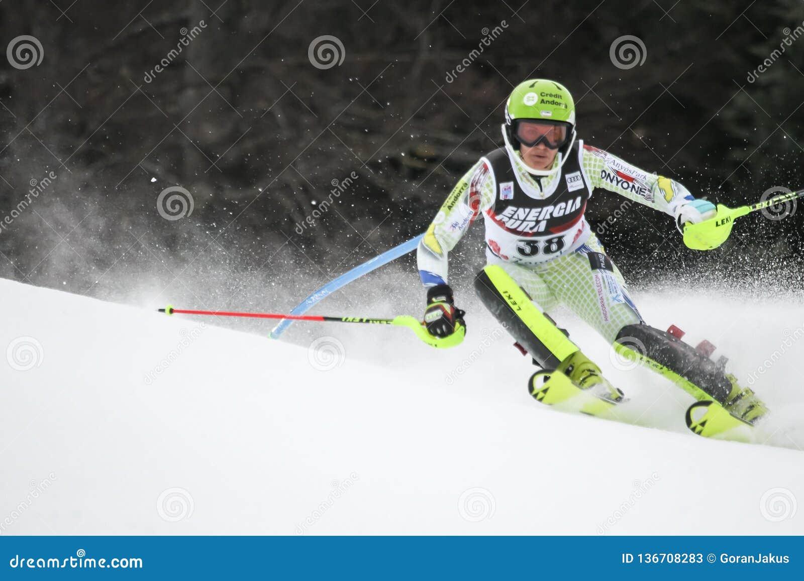 Śnieżny królowej trofeum 2019 - damy Slalomowe