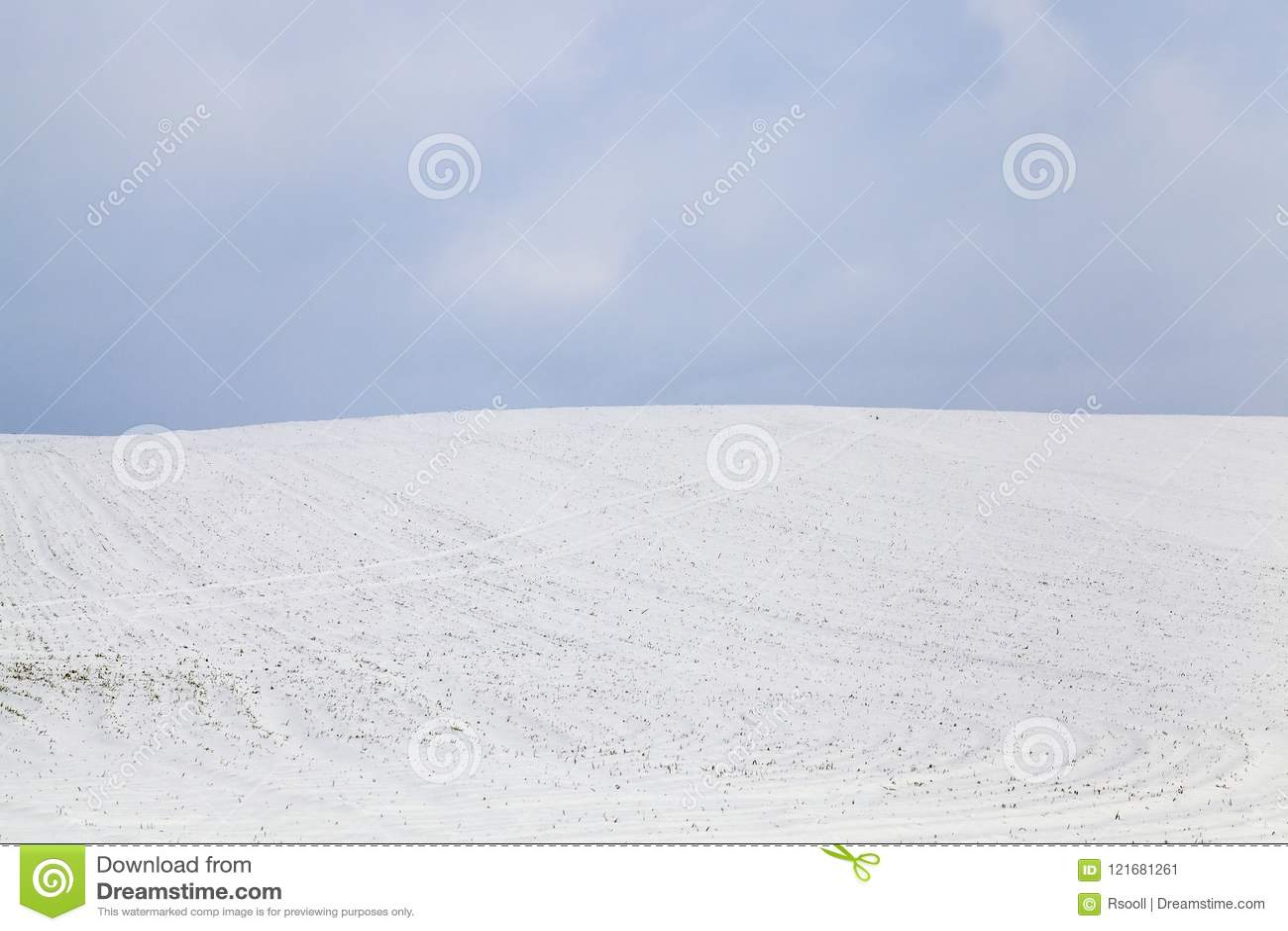 Śniegów dryfy