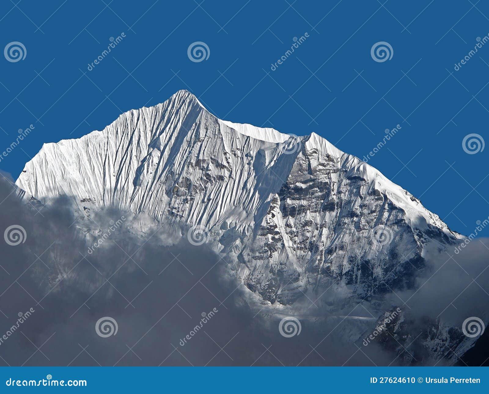 Śnieg Nakrywający Góry Szczyt