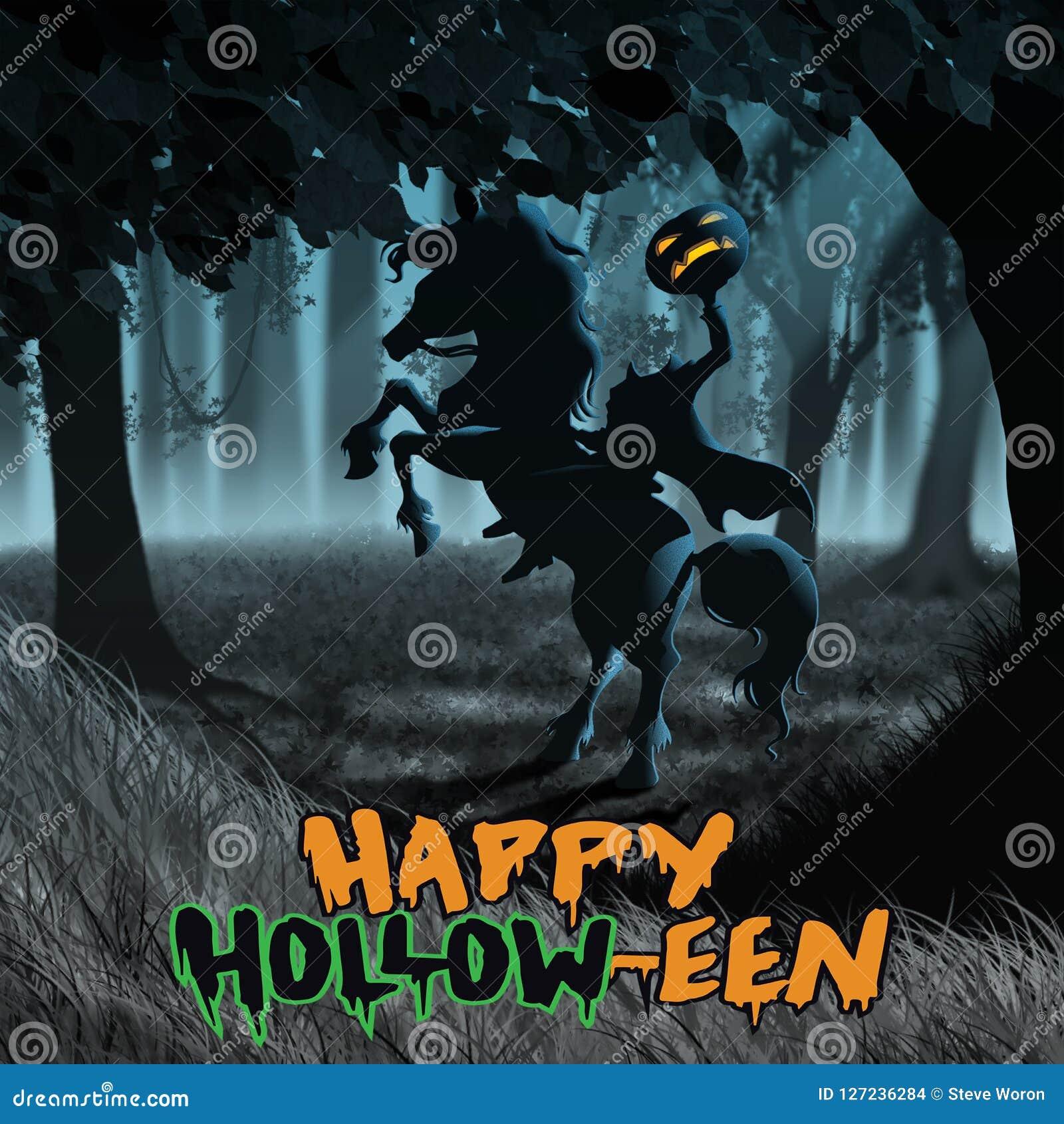 Śpiący Święci Halloweenowego Bezgłowego jeźdza