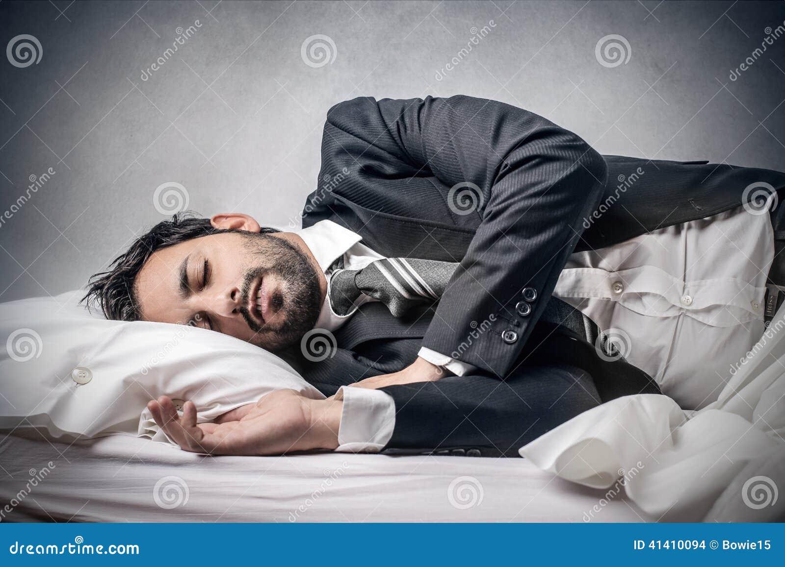 śpiący