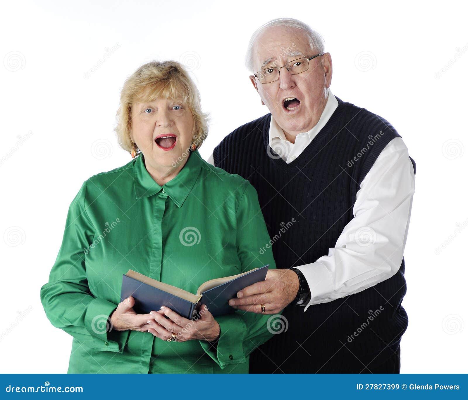 Śpiewacka Starsza Para