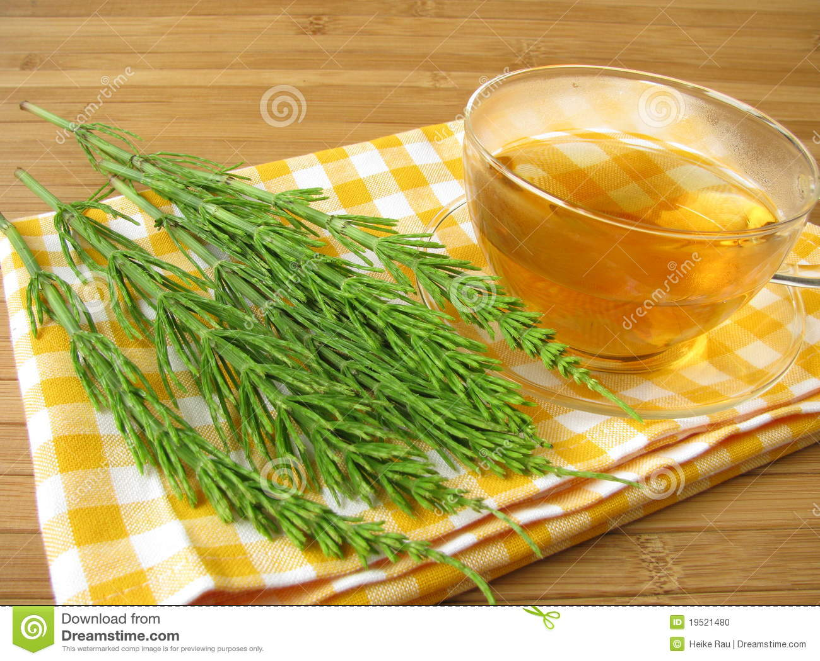 śródpolnego horsetail herbata